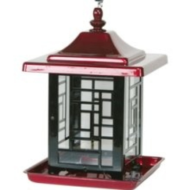 Gardner Equipment Mosaic Feeder Bird Feeder Red - 4482