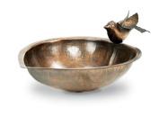 Achla Designs HBB-01 Heart Shaped Bird Feeder Outdoor Bird Bath