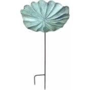 Achla LBB-01-S Large Lily Leaf Birdbath with Stand