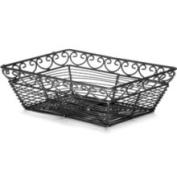 Tablecraft BK27209 - Rectangular Mediterranean Collection Basket, 9 L
