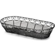 Tablecraft - Mediterranean Collection Basket, 38cm x16cm x7.6cm