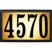 Qual Arc LT6B-1310 Bayside Estate Lighted Address Plaque