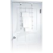 Neu Home 1762 Chrome Overdoor Towel Rack with 5 Bars