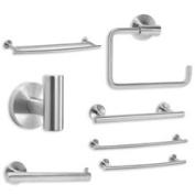 Amerock Towel Bar 18in Stainless Steel, Price/EA