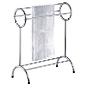 Taymor 01-1087 Free Standing Bathroom Towel Rack - Chrome