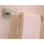 Atlas Homewares ETB24-CH Eucalyptus Collection 60cm Towel Bar, Polished Chrome