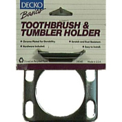 Decko 38040 Toothbrush and Tumbler Holder for 4