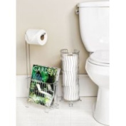 Better Living Products 53543 Wave Wire Toilet Tissue Holder Chrome