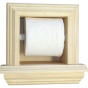 WG Wood Products TP-5.1cm The Wall Toilet Paper Holder with Ledge
