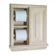 WG Wood Products TP-48.3cm The Wall Toilet Paper Holder Deluxe