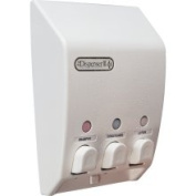 Better Living Products - Classic Triple Dispenser in White 71355