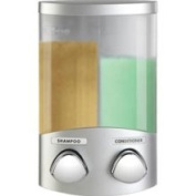 Better Living 76234-1 DUO Satin Silver- Translucent Container with Chrome Buttons