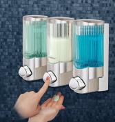 Better Living 78364 Signature III Soap Dispenser, Satin Nickels