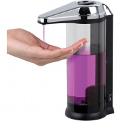 Better Living Products 70181 Touchless Countertop & Wall Mount Clear Chamber Dispenser 510 ml