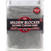 Kennedy Home Collections Mildew Blocker Shower Curtain Liner