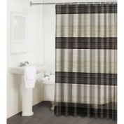 Famous Home Fashions Alys Bronze Shower Curtain