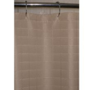 Kartri Sales Lineation Dune Polyester Shower Curtain