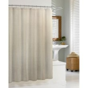 KASSATEX Lino Natural Shower Curtain