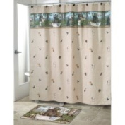 Blonder Home Accents Taking Care of Business Shower Curtain