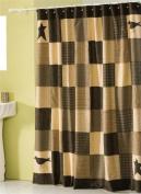 Victorian Heart Kettle Grove Shower Curtain 182.9cm x 182.9cm