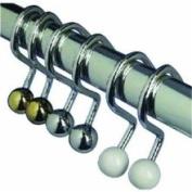 Zenith Prod. 98NN Ball End Shower Curtain Hook