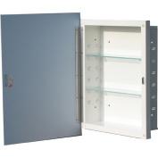 American Pride G960M22R1 16 x 22 Polished Edge Mirror Recessed Steel Medicine Cabinet