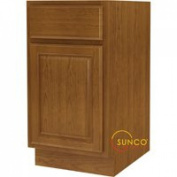 Sunco B18RT 18'' Oak Base Cabinet