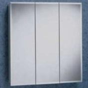 Zenith 91.4cm Bevelled Triview Medicine Cabinet - M36