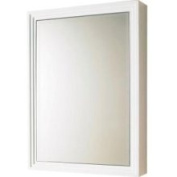 60cm . W x 80cm . H x 13cm . D Surface-Mount Medicine Cabinet in White