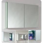 Fresca-FMC8010 101.6cm Wide Bathroom Medicine Cabinet w/ mirrors