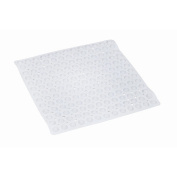 Mabis 523-1742-1900 Shower Mat with Drainage Holes - 23.625 Square