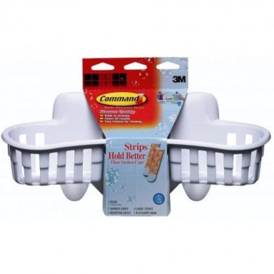 Command 17603b Shower Caddy With Water Resistant Strips By 3m Shop Online For Homeware In
