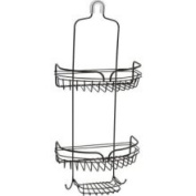 Zenith Janitorial Carts Over-the-Shower Head Caddy in Bronze E7529HB