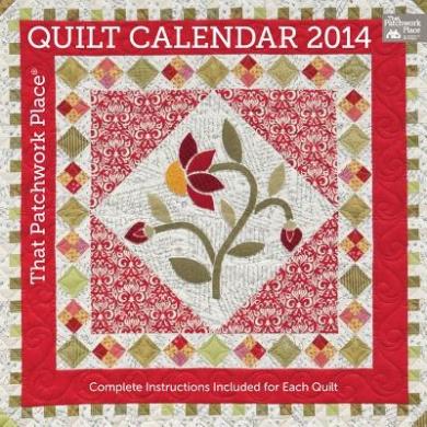That Patchwork Place Quilt Calendar