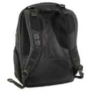 Spruce EcoSmart Backpack, 13 x 8 1/4, x 18 3/4, Black