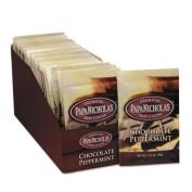 Papanicholas Coffee 79424 Premium Hot Cocoa Chocolate Peppermint 24-CT
