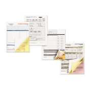 Xerox 3R12856 Carbonless Paper 4-Part Reverse Letter Goldenrod-Pink-Canary-White 1250 Sets