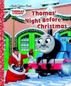 Thomas' Night Before Christmas (Little Golden Books