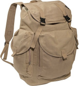 Everest CTBP-2010L-KK 19.5 in. Cotton Canvas Backpack