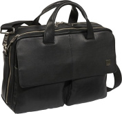 "Warwick 15"" Leather Laptop Briefcase"