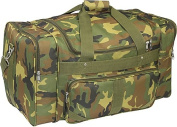 Everest 1027-CM 27 in. 600 Denier Polyester Jungle Camo Print Duffel Bag
