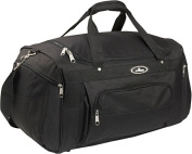 Everest S232-BK 24 in. Deluxe Sports Duffel Bag