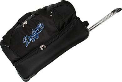 "Los Angeles Dodgers 27"" Rolling Drop Bottom Duffel"