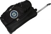 "Seattle Mariners 27"" Rolling Drop Bottom Duffel"