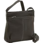 Shoulder Bag w/Exterior Zip Pocket