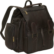 David King& Co 329C Top Handle Backpack- Cafe