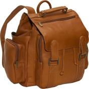 David King& Co 329T Top Handle Backpack- Tan