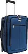 Travelers Choice TC0424N 21 in. Siena Hybrid Hard-Shell Rolling Garment Bag- Upright in Navy