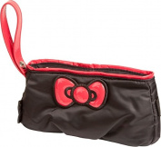Williams Sports Holdings BP-HKC.BLACK Hello Kitty Diva Bow Pouch - Black- Red