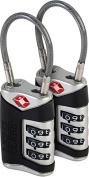 TSA Sentry Cable Lock - 2 Pack
